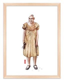 Figures du cinéma - illustration - Schiltzie